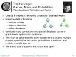 tom henzinger games times and probabilities value iteration in verification and control