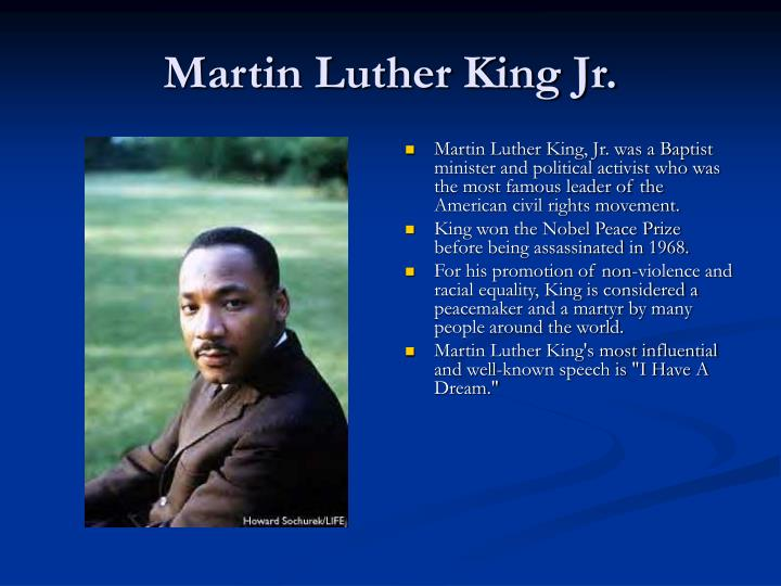 martin luther king persuasive speech Speech critique – i have a dream – martin luther king jr much of the greatness of this speech is tied to its historical context, a topic which goes beyond the scope of.