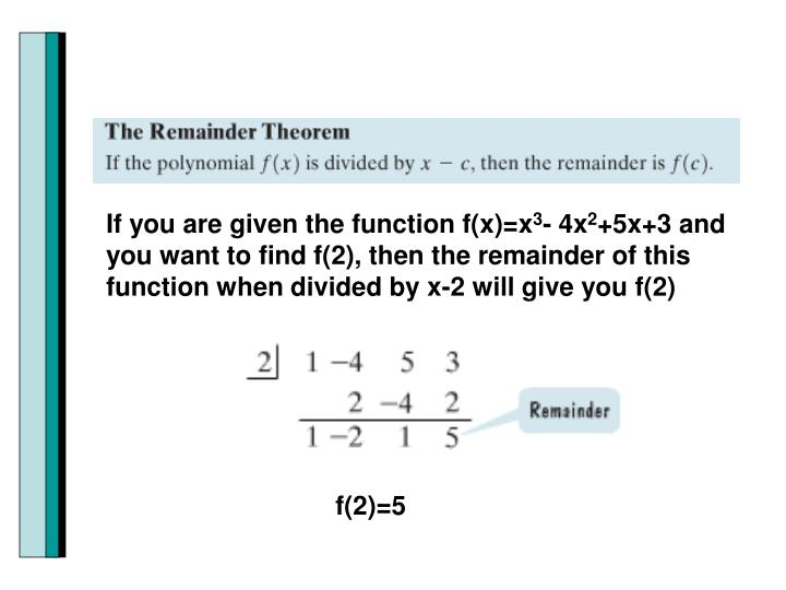 If you are given the function f(x)=x