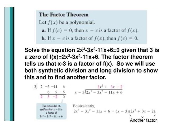 Solve the equation 2x