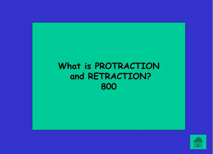 What is PROTRACTION