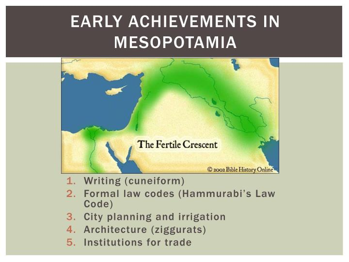 independently developed writing systems of mesopotamia