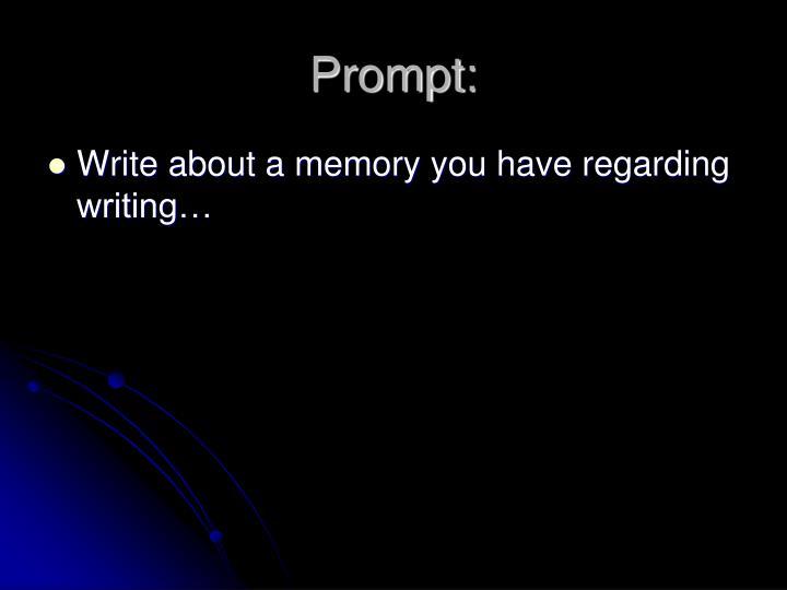 Prompt: