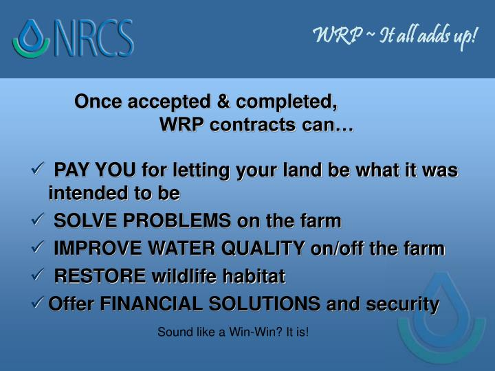 WRP ~ It all adds up!