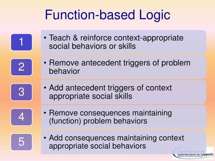 Function-based Logic