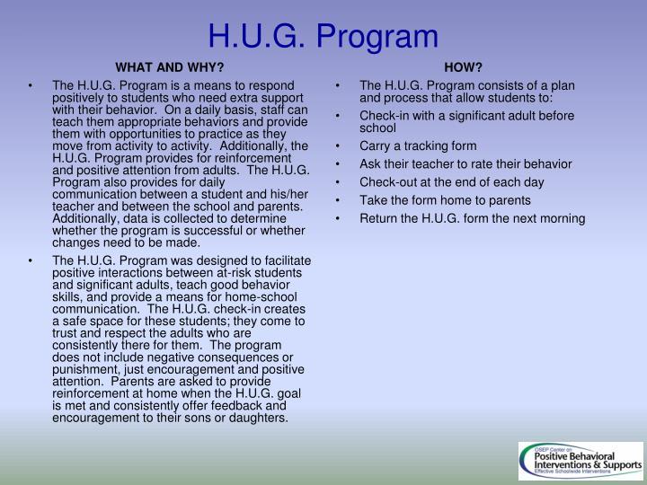 H.U.G. Program