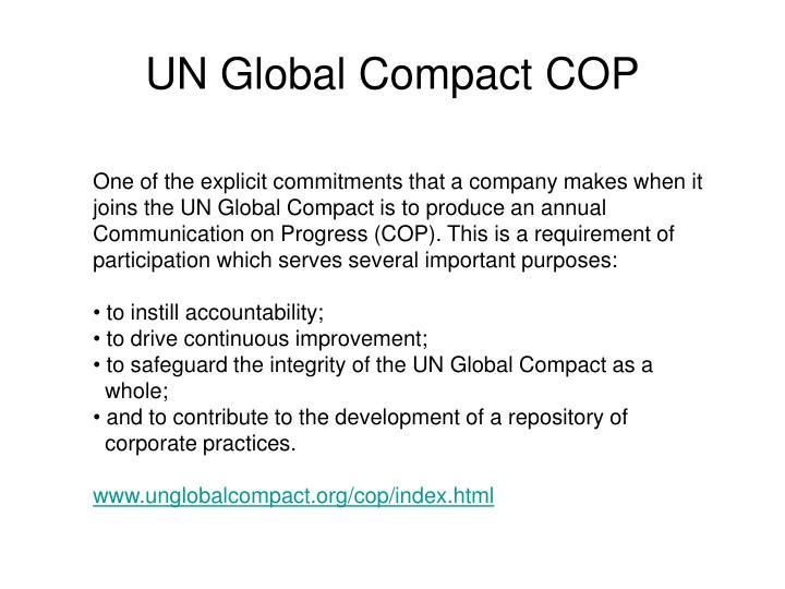 UN Global Compact COP