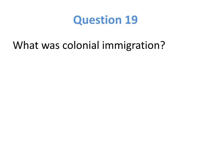 Question 19