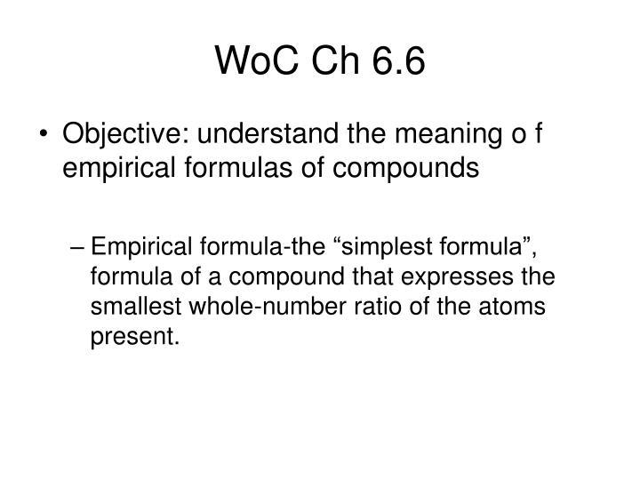 WoC Ch 6.6