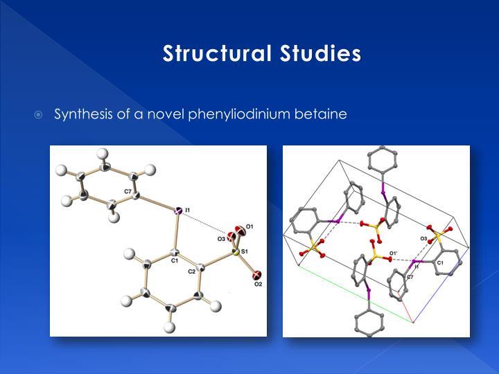 Structural Studies