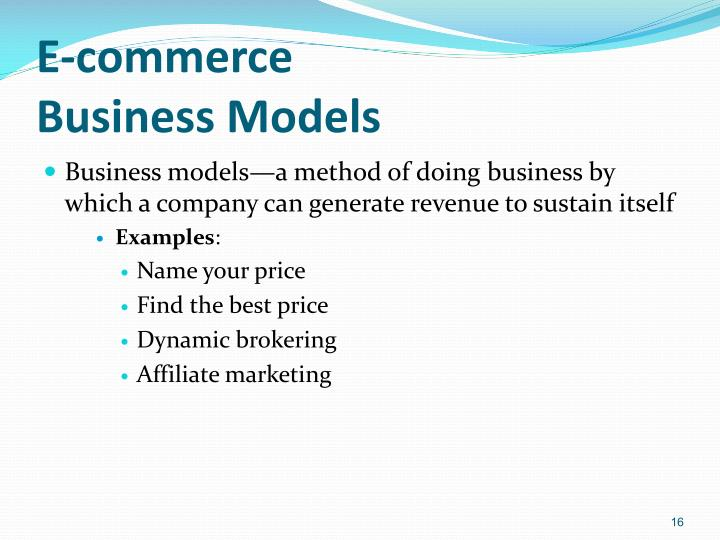 e commerce business model and strategies pdf