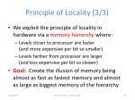 principle of locality 3 3