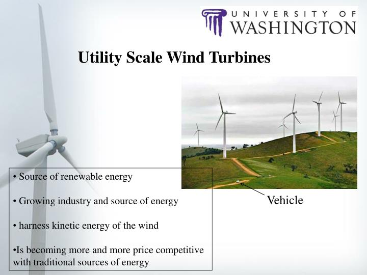 Utility Scale Wind Turbines