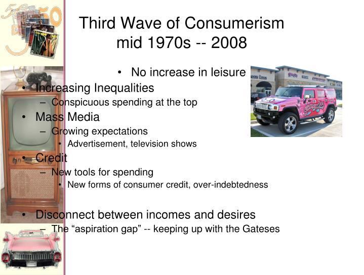 Third Wave of Consumerism