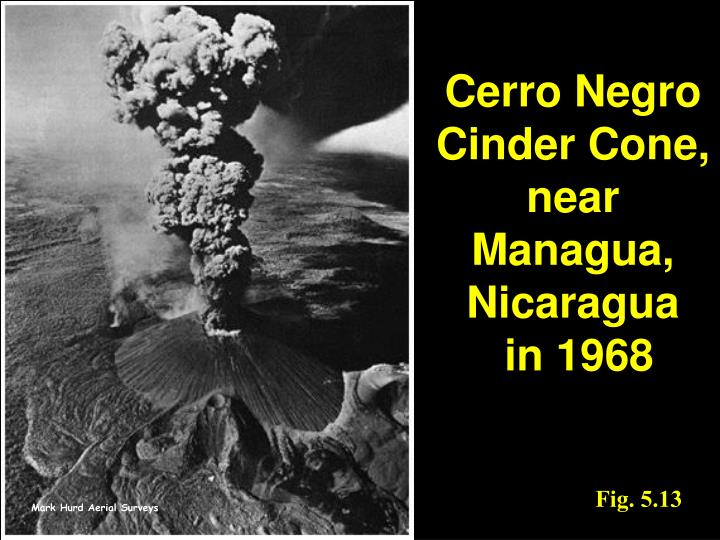 Cerro Negro Cinder Cone, near Managua, Nicaragua
