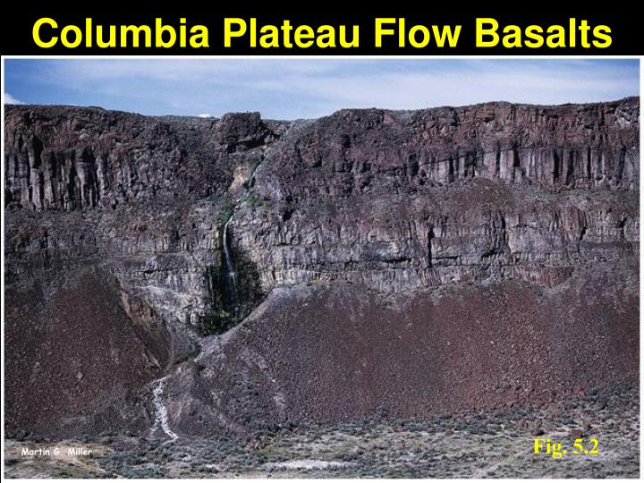 Columbia Plateau Flow Basalts