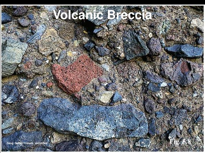 Volcanic Breccia
