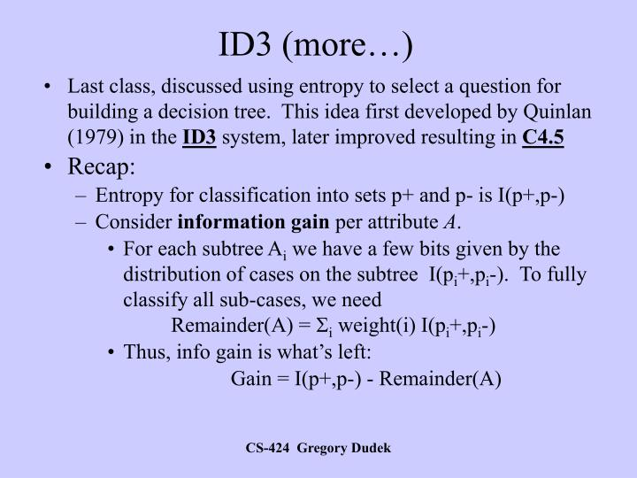 ID3 (more…)
