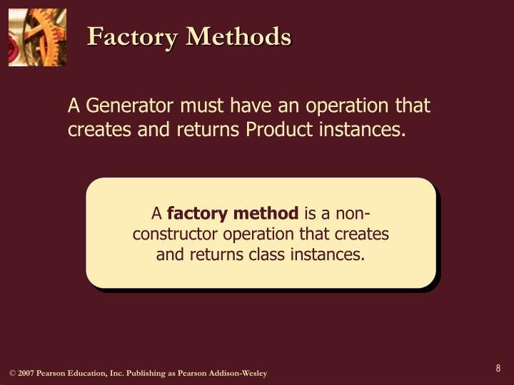 Factory Methods
