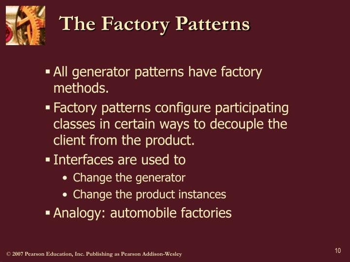 The Factory Patterns