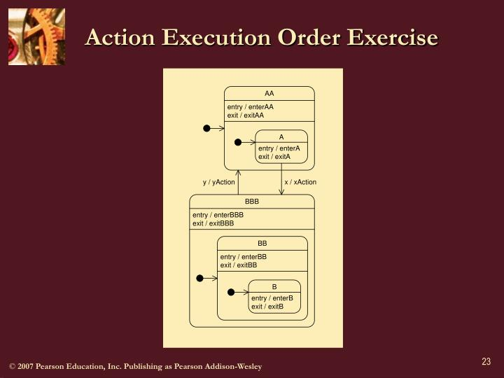 Action Execution Order Exercise