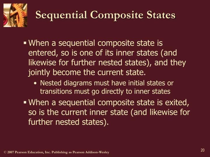 Sequential Composite States