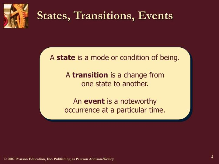 States, Transitions, Events
