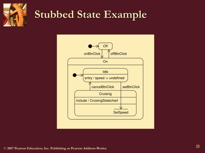 Stubbed State Example