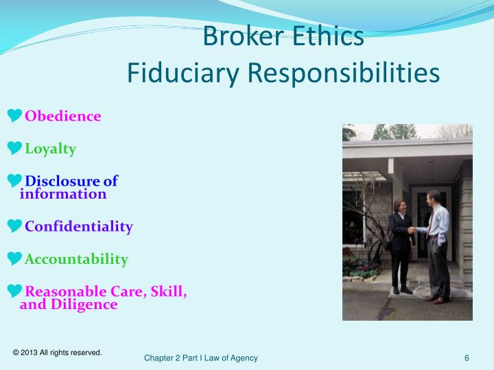 Broker Ethics