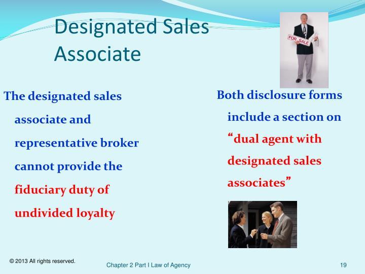 Designated Sales