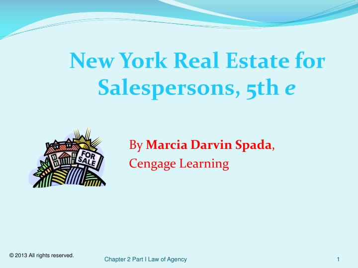 New york real estate for salespersons 5th e