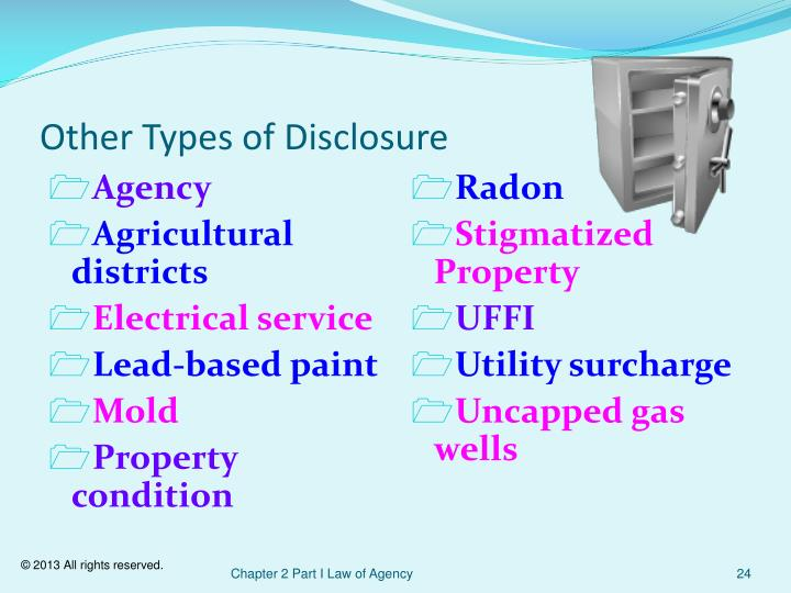Other Types of Disclosure