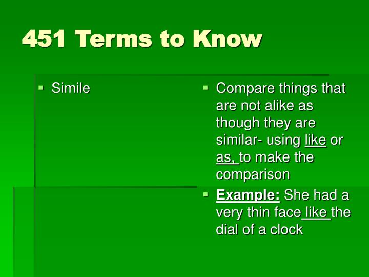 451 terms to know1