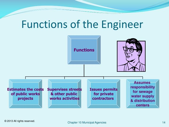 Functions of the Engineer