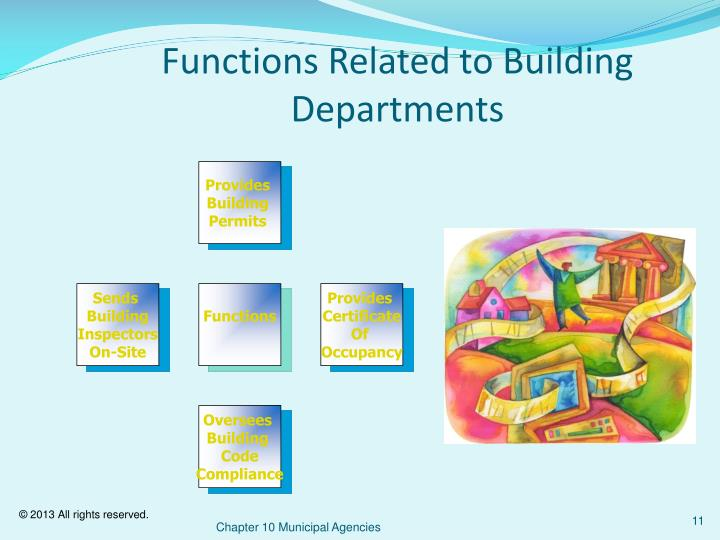Functions Related to Building Departments