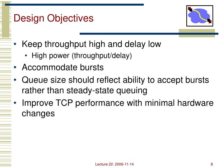 Design Objectives