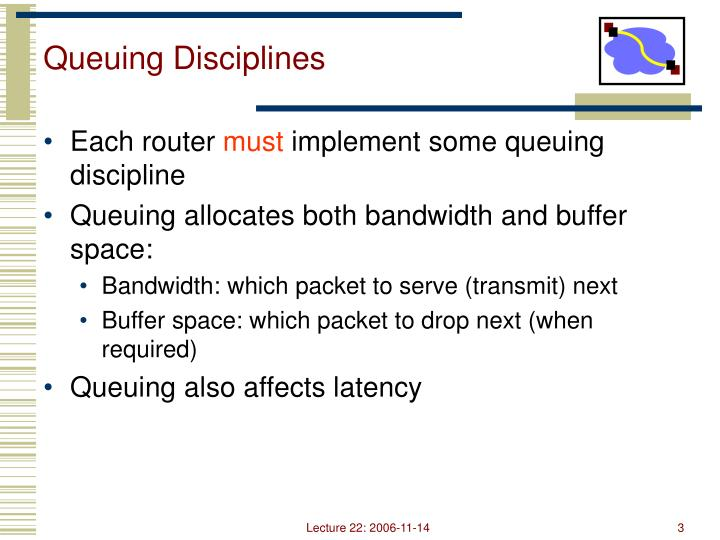 Queuing Disciplines