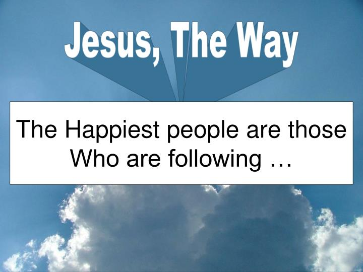 Jesus, The Way