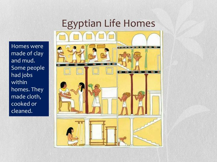 Egyptian Life Homes