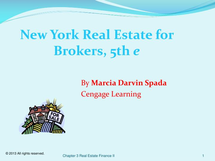 New york real estate for brokers 5th e