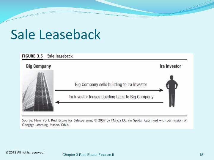 Sale Leaseback
