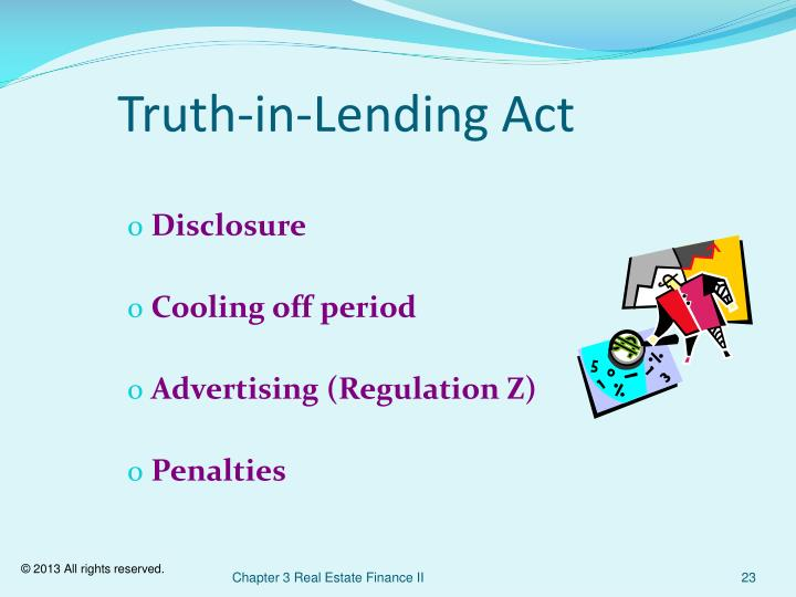 Truth-in-Lending Act