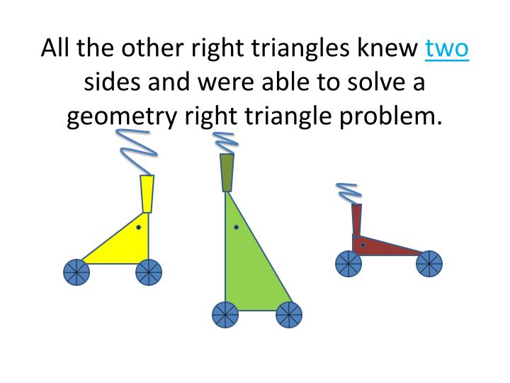 All the other right triangles knew