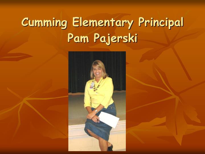 Cumming Elementary Principal