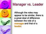 manager vs leader