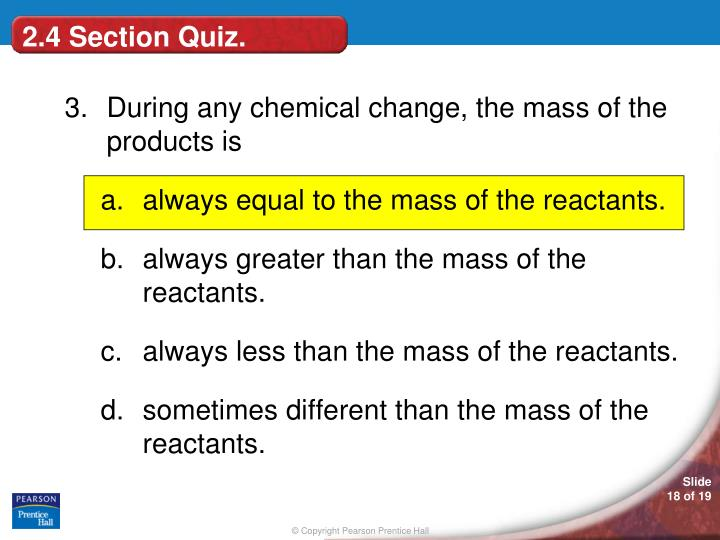 2.4 Section Quiz.