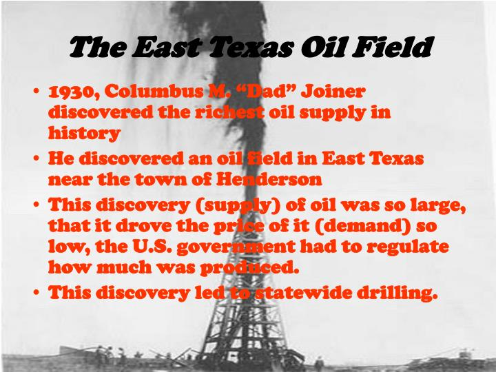 The East Texas Oil Field