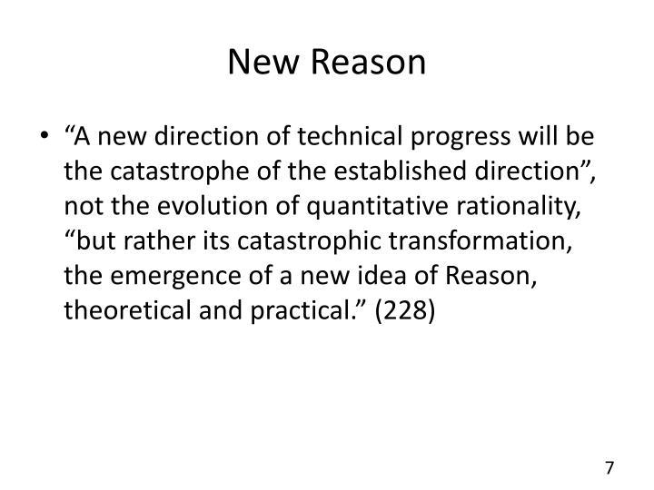 New Reason