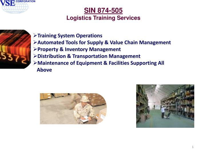 Training System Operations