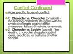 conflict continued1